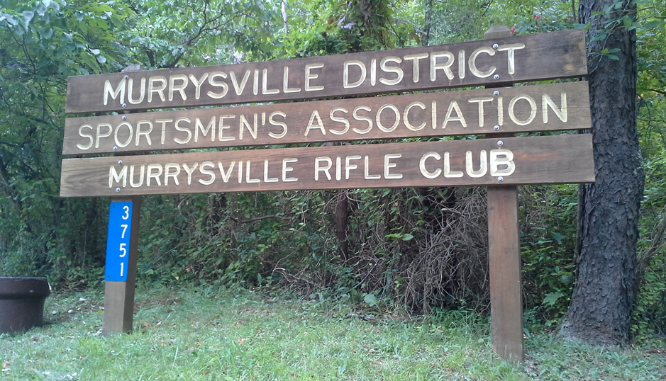 Murrysville Rifle Club Sign