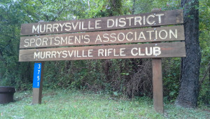 Murrysville Rifle Club Sign Banner